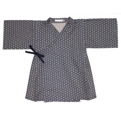 kimono asanoha blue